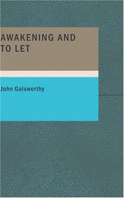 Cover of: Awakening and To Let