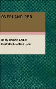 Cover of: Overland Red | Henry Herbert Knibbs