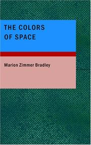 Cover of: The Colors of Space