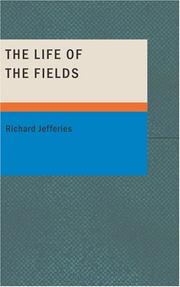 Cover of: The life of the fields