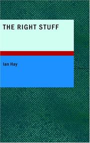 Cover of: The Right Stuff | Ian Hay