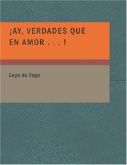 Cover of: Ay Verdades Que en Amor . . . !