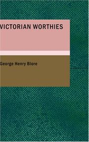 Cover of: Victorian Worthies | George Henry Blore