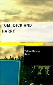 Cover of: Tom, Dick and Harry