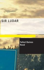 Cover of: Sir Ludar: A Story of the Days of the Great Queen Bess