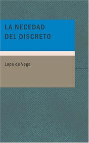 Cover of: La Necedad del Discreto