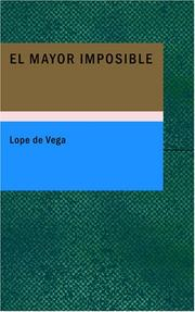Cover of: El Mayor Imposible