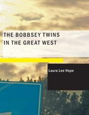 Cover of: The Bobbsey Twins in the Great West (Large Print Edition) | Laura Lee Hope