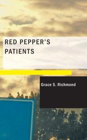 Cover of: Red Pepper's Patients