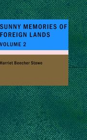 Cover of: Sunny Memories of Foreign Lands- Volume 2