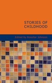 Cover of: Stories of Childhood