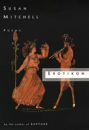Cover of: Erotikon | Mitchell, Susan