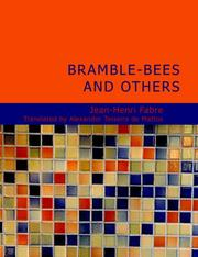 Bramble-Bees and Others (Large Print Edition)