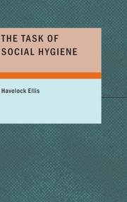 Cover of: The task of social hygiene