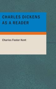 Cover of: Charles Dickens as a Reader