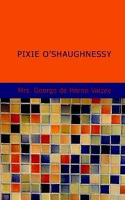 Cover of: Pixie O'Shaughnessy