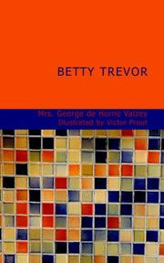 Cover of: Betty Trevor