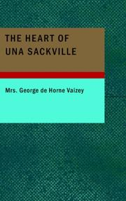 Cover of: The Heart of Una Sackville