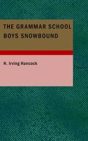 Cover of: The Grammar School Boys Snowbound