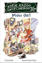 Cover of: Write on!