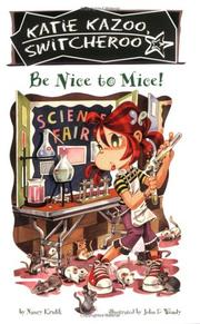 Cover of: Be nice to mice!