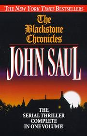 Cover of: The Blackstone chronicles: The Serial Thriller Complete in One Volume (Blackstone Chronicles)