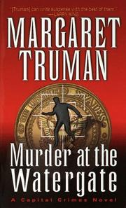 Cover of: Murder at the Watergate (Capital Crime Mysteries)