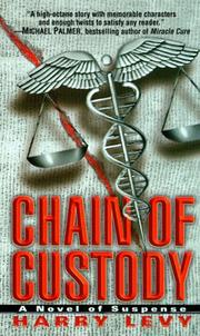 Cover of: Chain of Custody