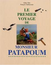 Cover of: Le premier voyage de Monsieur Patapoum
