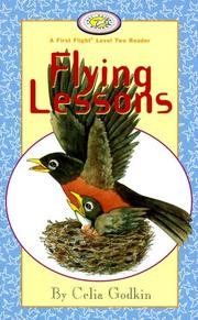 Cover of: Flying Lessons (First Flight Books Level Two) | Celia Godkin
