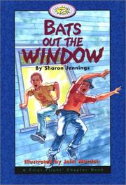 Cover of: Bats Out the Window (A First Flight Chapter Book)