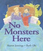 Cover of: No Monsters Here