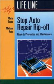 Cover of: Stop Auto Repair Rip-off