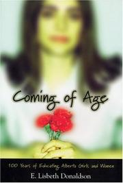 Cover of: Coming of Age | E. Lisbeth Donaldson