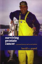 Cover of: Surviving Prostate Cancer | Harold S. Gopaul