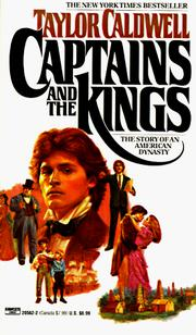 Cover of: Captains and the Kings | Taylor Caldwell