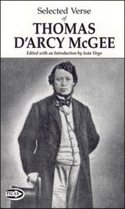 Cover of: Selected Verse of Thomas D'Arcy McGee (Picas Series)