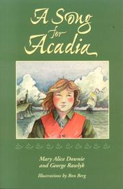 Cover of: A Song for Acadia