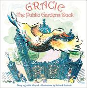 Cover of: Gracie, the Public Gardens Duck | Judith Meyrick