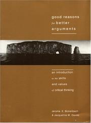 Cover of: Good Reasons For Better Arguments | Jacqueline M. Davies