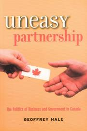 Cover of: Uneasy Partnership
