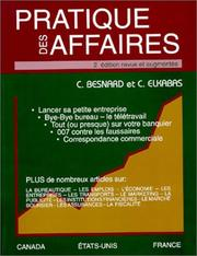 Cover of: Pratique Des Affaires
