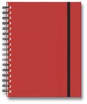 Cover of: Wire-O Basics Chile Pepper Red Ribbed Lined 7x9 | Blank Journal