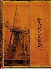 Cover of: Smythe Sewn Rembrandt, The Windmill Unlined | The Paperblanks Book Company