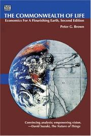 Cover of: The Commonwealth of Life | Peter G. Brown