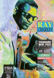 Cover of: Songs Made Famous by Ray Charles