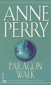 Cover of: Paragon Walk: a Charlotte and Thomas Pitt novel