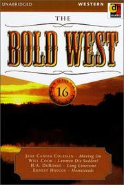 Cover of: The Bold West