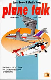 Plane Talk by Lewis Poteet, Jim Poteet