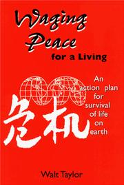 Cover of: Waging Peace for a Living